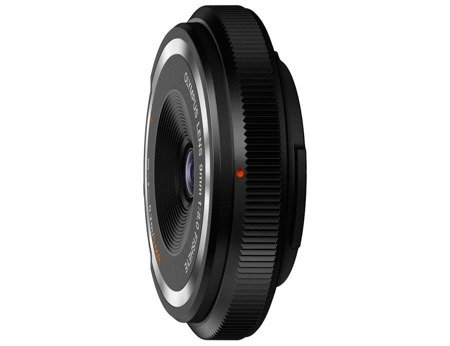 Olympus Body Cap Lens 9 mm f/8.0 Fisheye - czarny