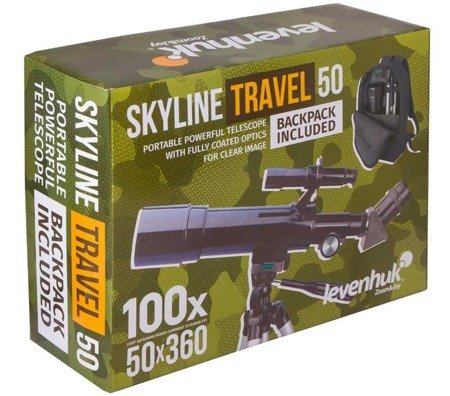 Teleskop Levenhuk Skyline Travel 50